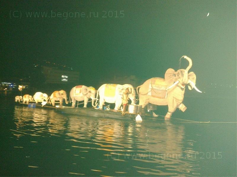 Слоны в Которое, победитель фестиваля Бокельска Ночь в 2015 году